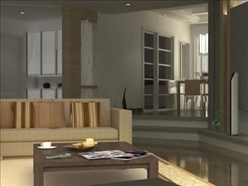 living room 26 3d model max 94626