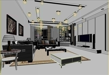 living room 26 3d model max 94627