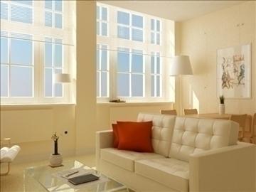 living room 27 3d model max 98555