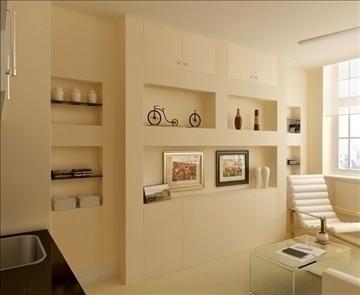 living room 27 3d model max 98556