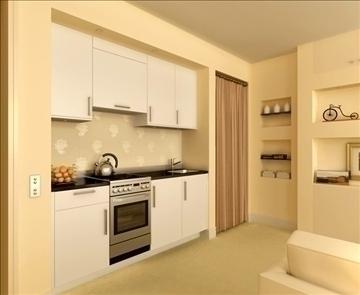 living room 27 3d model max 98557