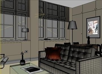 living room 27 3d model max 98558