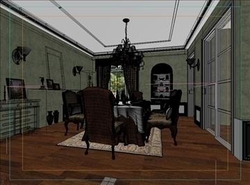 living room 28 3d model max 98560