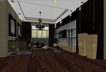 living room 29 3d model max 98562