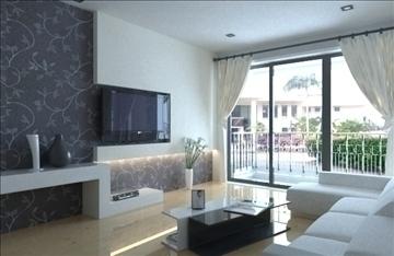 living room -3 3d model max 99007