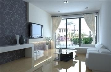 living room -3 3d model max 99008