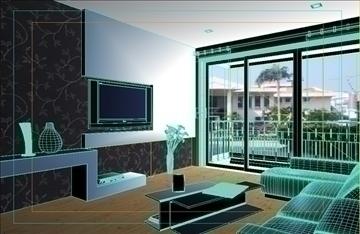 living room -3 3d model max 99009