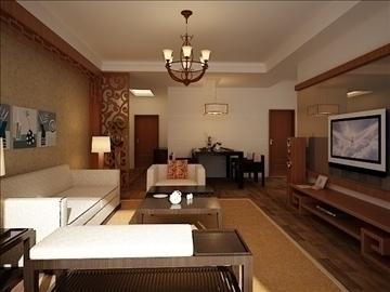 living room 30 3d model max 98563