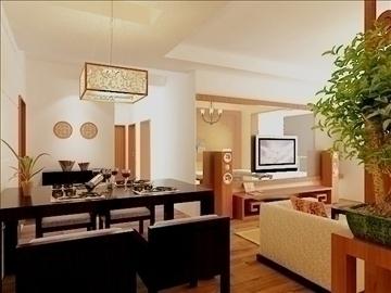 living room 30 3d model max 98564