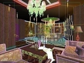 living room 32 3d model max 98579