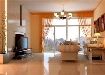 living room 33 3d model max 98580