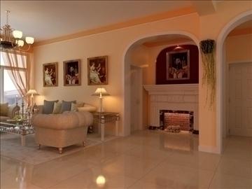 living room 33 3d model max 98581
