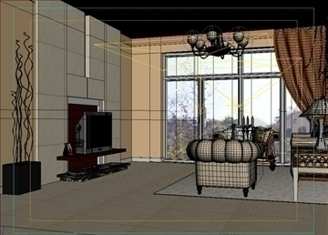 living room 33 3d model max 98582