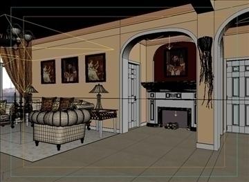 living room 33 3d model max 98583