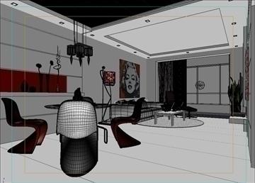 living room 34 3d model max 98586