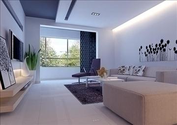 living room 35 3d model max 98587