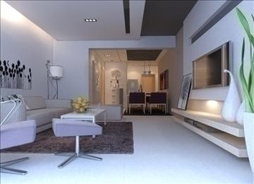 living room 35 3d model max 98589