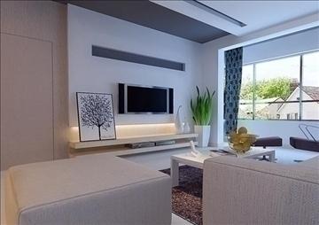 living room 35 3d model max 98590
