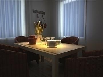 living room 36 3d model max 98592