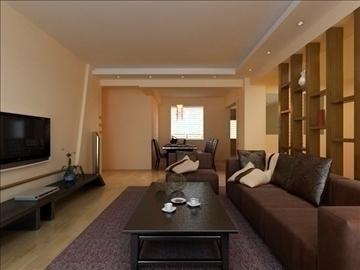 living room 37 3d model max 98594