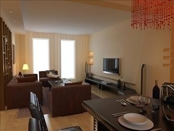 living room 37 3d model max 98595