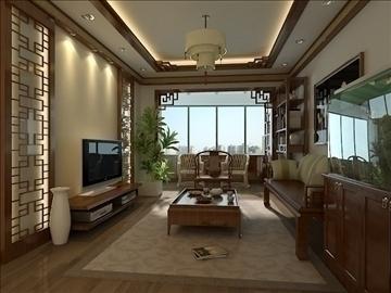 living room 38 3d model max 98597