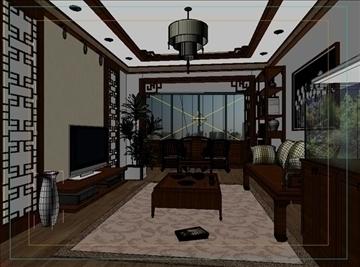living room 38 3d model max 98599