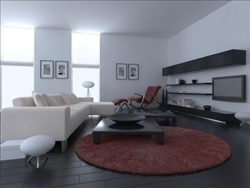living room 39 3d model max 98600