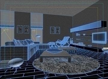 living room 39 3d model max 98601