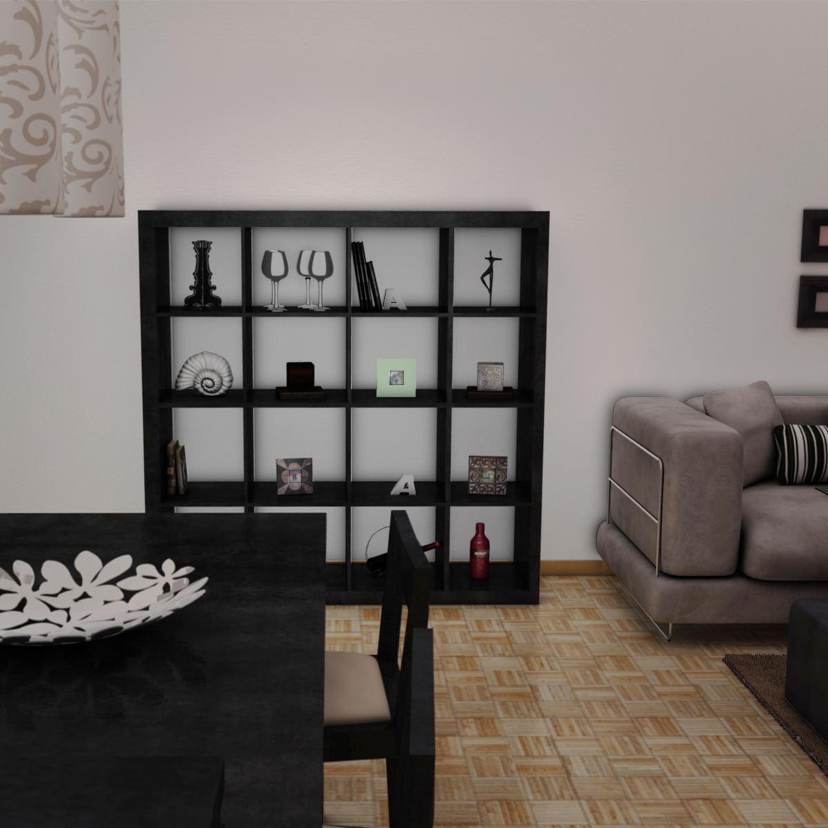 living room 3d model 3ds max fbx c4d ma mb obj 159606