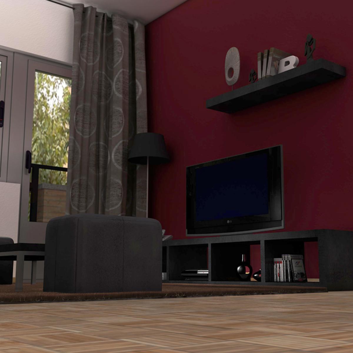 dzīvojamā istaba 3d modelis 3ds max fbx c4d ma mb obj 159608