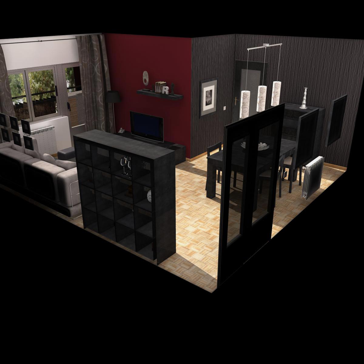 dzīvojamā istaba 3d modelis 3ds max fbx c4d ma mb obj 159611