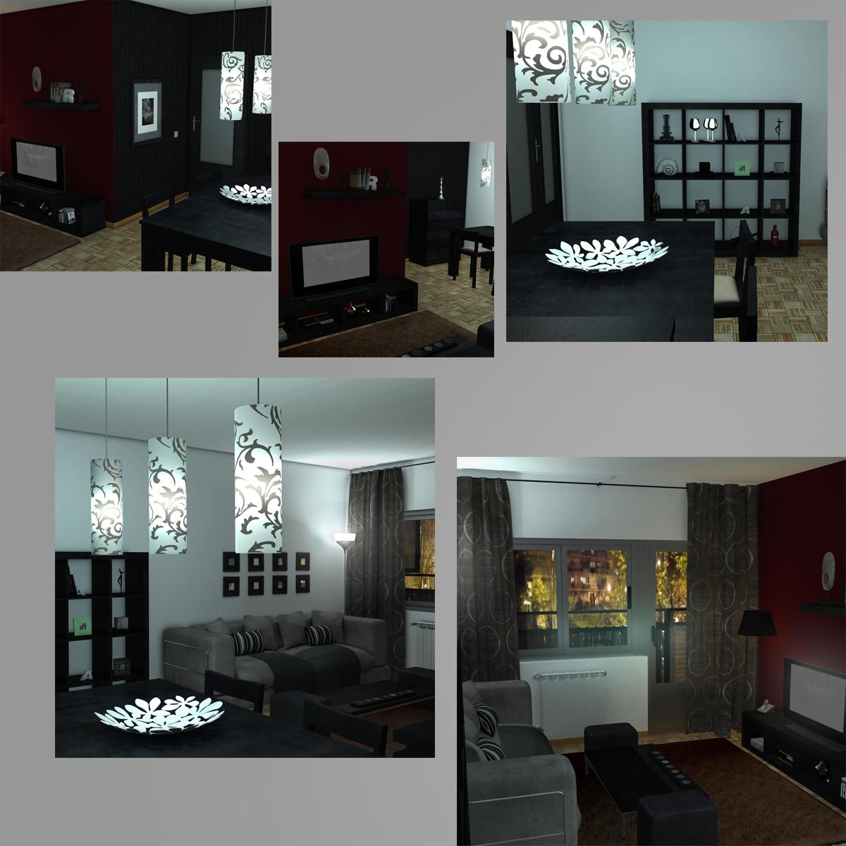 dzīvojamā istaba 3d modelis 3ds max fbx c4d ma mb obj 159616
