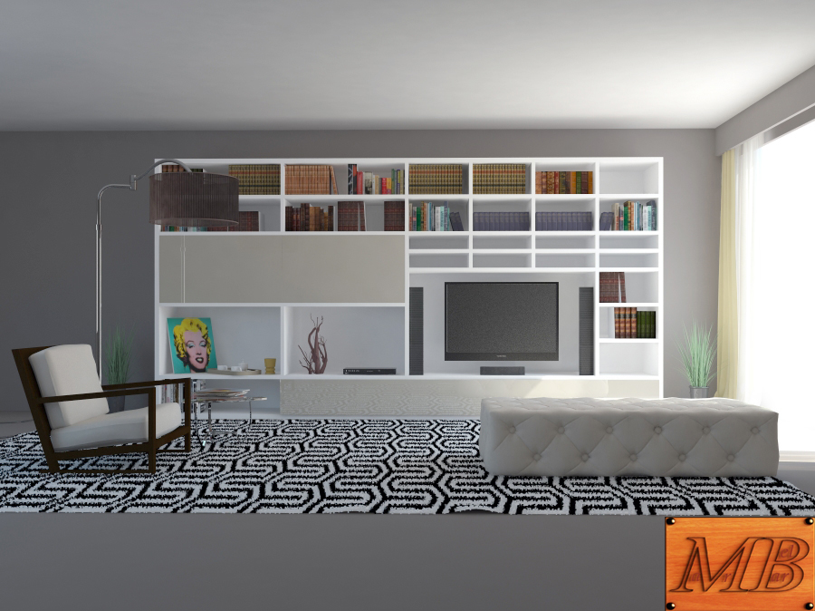 living room 3d model max fbx c4d obj 163407