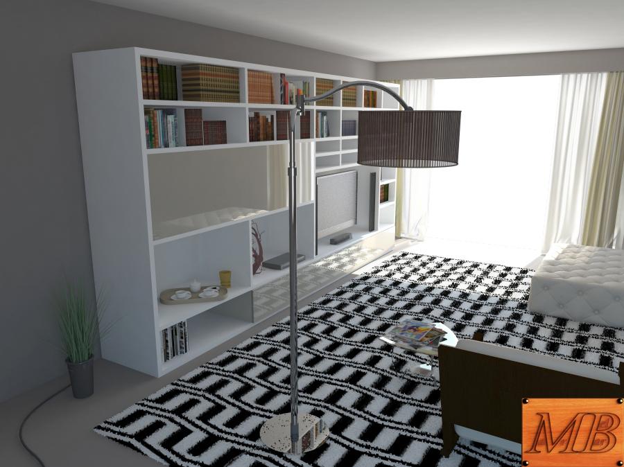 living room 3d model max fbx c4d obj 163409