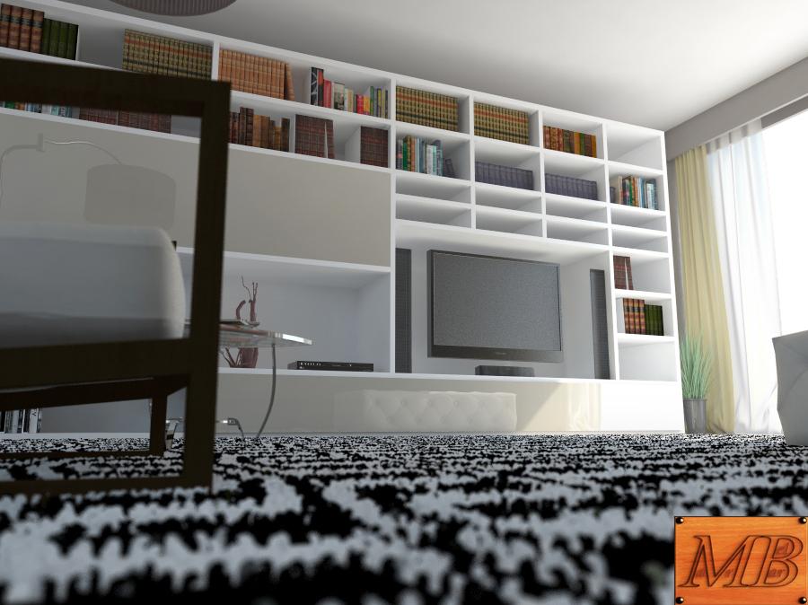 living room 3d model max fbx c4d obj 163410