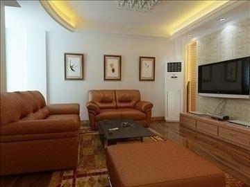 living room -4 3d model max 98768