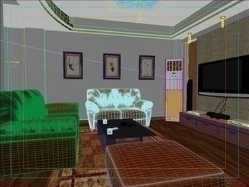living room -4 3d model max 98769