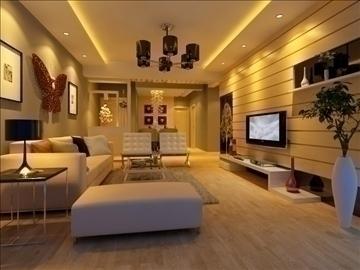 living room 41 3d model max 98604