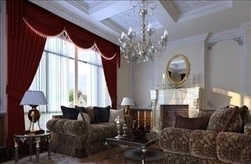 living room 42 3d model max 98606