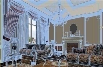 living room 42 3d model max 98607