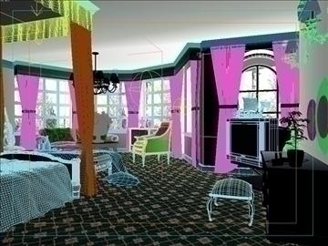 living room 43 3d model max 98609
