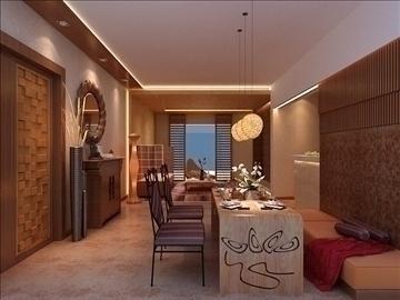 living room 44 3d model max 98610