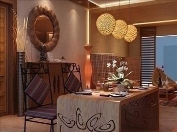 living room 44 3d model max 98611