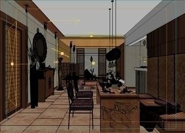 living room 44 3d model max 98612