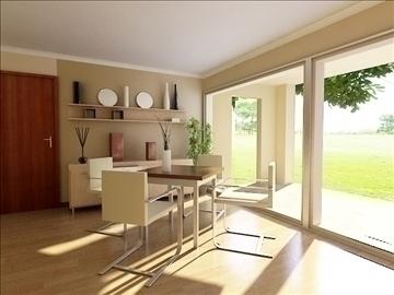 living room 45 3d model max 98614