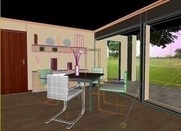 living room 45 3d model max 98615