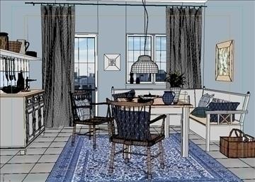living room 46 3d model max 98618