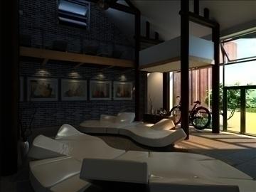 living room 47 3d model max 98620