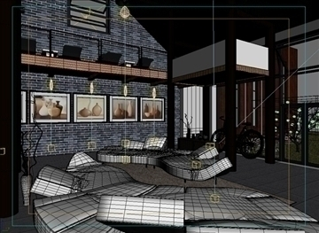 living room 47 3d model max 98621